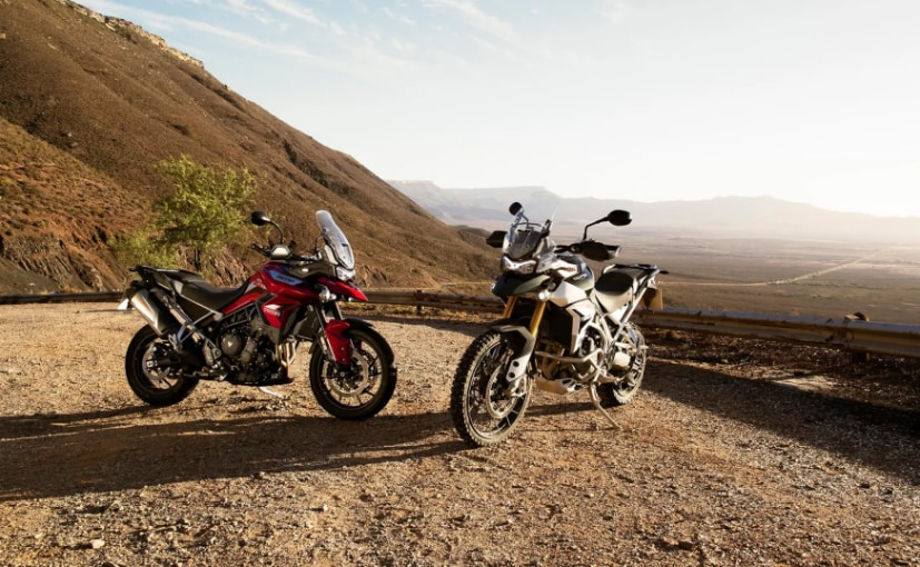 The Triumph Tiger 900 is a completely new model ground-up.