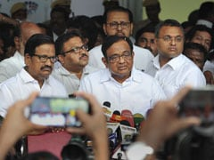 """Wanted To Wreck My Mental Strength"": P Chidambaram Hits Out At Centre"