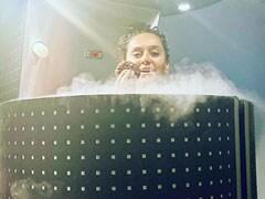 Shibani Dandekar, Farhan Akhtar's Cryotherapy Experience: Having Cookies In A '-130 Degree Chamber'