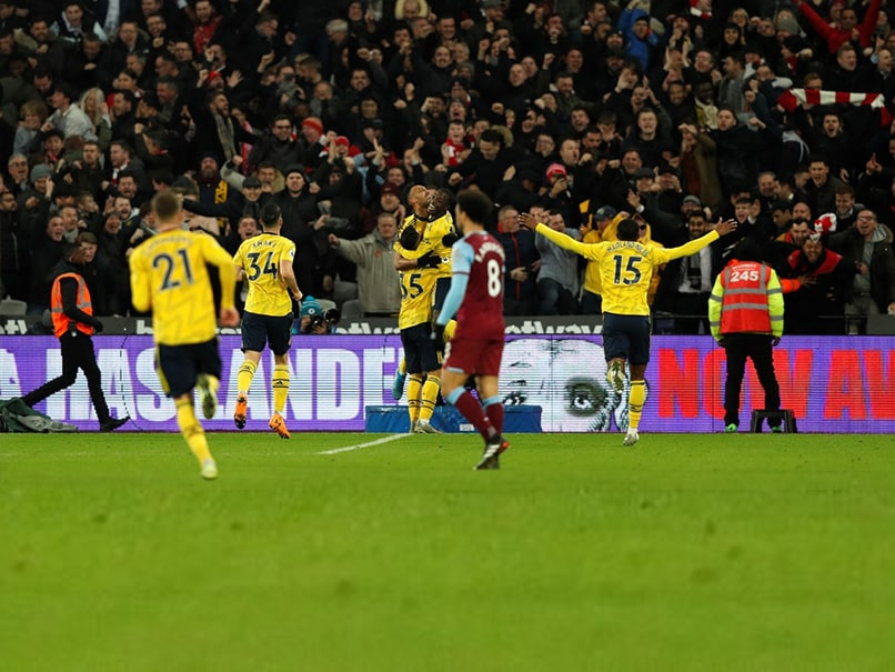Premier League: Arsenal Relieved As Worst Winless Run Since 1977 Ends At West Ham