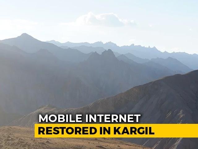Video : Mobile Internet Back In Kargil After 145 Days Of Curbs In J&K And Ladakh