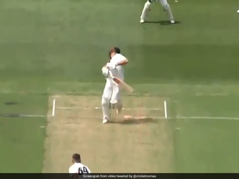 Watch: Australian Batsmen Take Hard Blows To Body As MCG Pitch Causes Havoc In Sheffield Shield Match