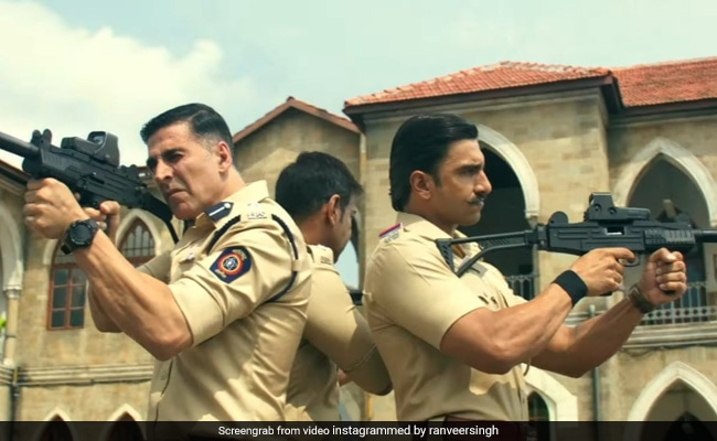 Super Cops Sooryavanshi, Singham And Simmba Promise 'Thrice The Action' In This New Teaser