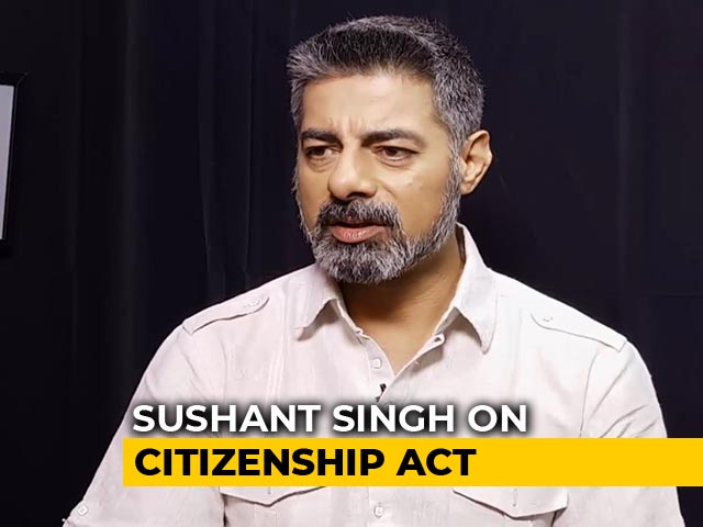 Sushant Singh Says Citizenship Act Is Against The Fabric Of India