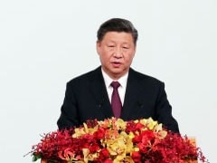 """None Of The Business Of Foreign Forces"": Xi Jinping On Hong Kong, Macau"