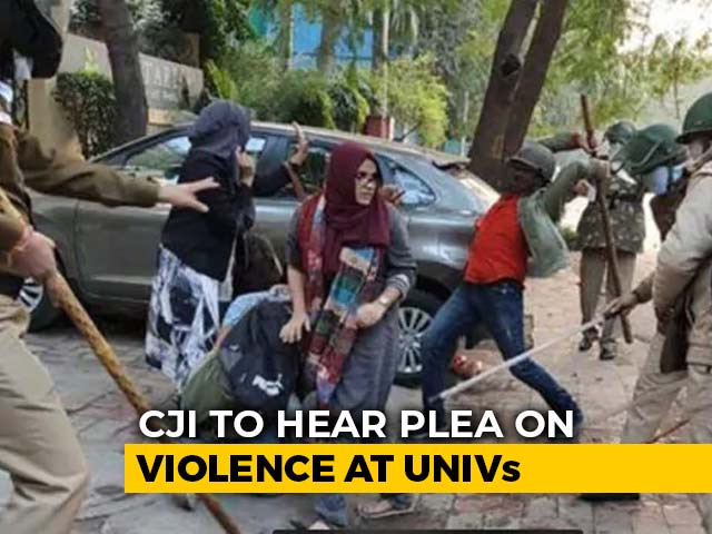 """Video : """"Rioting Must Stop"""": Top Court Hearing Tomorrow On Crackdown On Students"""