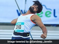 Para-Javelin Thrower Sandeep Chaudhary's Missed Dope Test Not Considered Whereabouts Failure