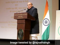 """With Induction Of Rafale Jets..."": Rajnath Singh Sharpens Attack On Pak"