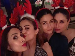 Christmas 2019: Kareena Kapoor Parties With Alia Bhatt, Malaika Arora And Others
