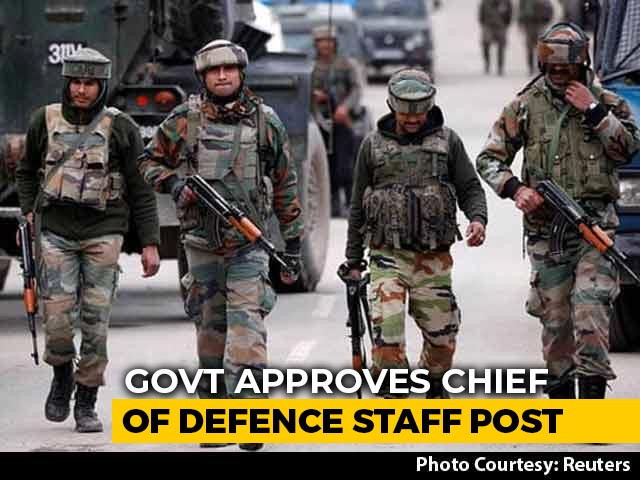 Video : India To Get Its First Chief Of Defence Staff, Will Be A 4-Star General