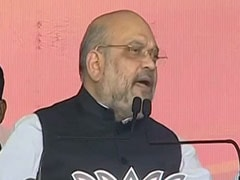 """Grand Ram Temple In Ayodhya In 4 Months,"" Says Amit Shah In Jharkhand"