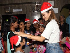 Mouni Roy Celebrates Christmas With HIV-Affected Kids: 'These Kids Deserve To Be Cared For'