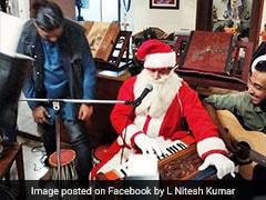 अनूप जलोटा बने Santa Claus, देसी अंदाज में गाया Jingle Bells वीडियो हुआ वायरल