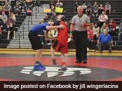 सेरिब्रल पैल्सि से पीड़ित बच्चे ने जीता कुश्ती का मुकाबला, देखें ये शानदार Video