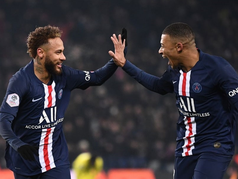 Neymar, Kylian Mbappe Fire Paris Saint-Germain Five Points Clear In Ligue 1