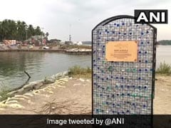A Fish Cemetery In Kerala Has Gravestones With Single-Use Plastic Bottles