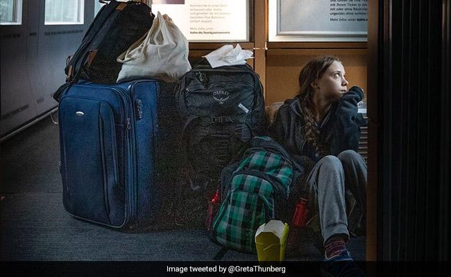 Greta Thunberg Defends 'Overcrowded Train' Tweet In Spat With German Rail
