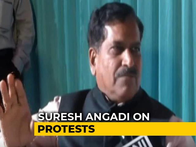 "Video : ""If Anyone Destroys Public Property, Shoot Them At Sight"": Union Minister"