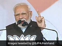 Congress Will Push Jharkhand To Uncertainty, Darkness: PM Modi
