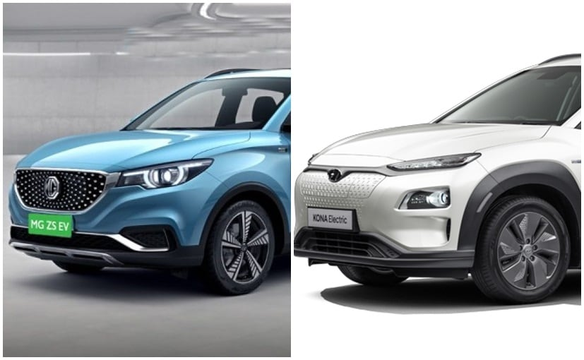Currently, the Hyundai Kona Electric is the only electric SUV in India to rival the MG ZS EV