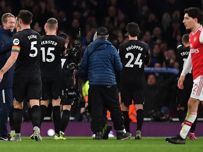 Premier League: Arsenal No Show Ends In Defeat To Brighton