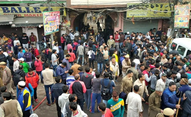 Updates: 43 Dead In Delhi Luggage Factory Fire, Owner Arrested