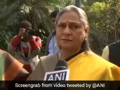 """Might Hit You..."": Jaya Bachchan To Reporter On Crimes Against Women"