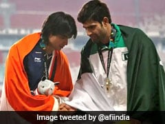 """Best Thing On Internet"": Twitter Explodes After Athletics Federation Of India's Message For Pakistan Athlete"