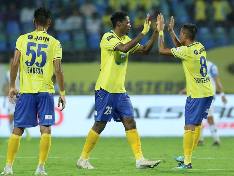 ISL: Raphael Messi Bouli's Brace Helps Kerala Blasters FC ...