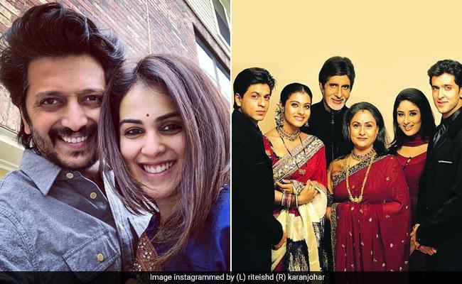 18 Years Of Kabhi Khushi Kabhie Gham: Riteish Deshmukh Reveals He Took Wife Genelia To Watch The Film On First Date
