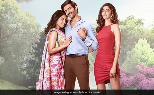 Pati Patni Aur Woh Song Tu Hi Yaar Mera: Kartik Aaryan Loves Bhumi Pednekar But Can't Stay Away From Ananya Panday