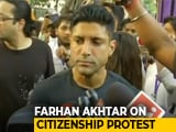 "Video : ""Democratic Right To Protest"": Actor Farhan Akhtar On Citizenship Law"