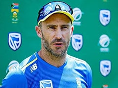 Faf Du Plessis Quashes Retirement Talk After Big Defeat To England