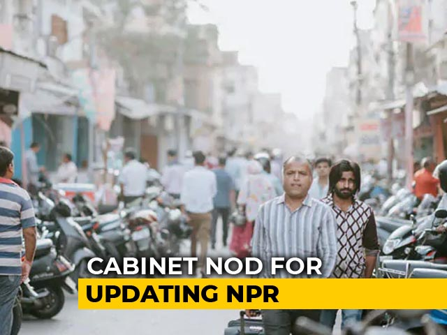 Video : Population List NPR To Be Updated, Will Cost Rs. 8,500 Crore: Government