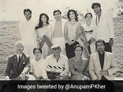 अनुपम खेर ने 33 की उम्र में निभाया था हेमा मालिनी के पिता का किरदार, अब Photo शेयर कर एक्टर ने कही ये बात