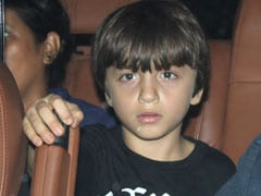 Viral: Shah Rukh's Son AbRam, 6, Asks Paparazzi To Make Way For His Car
