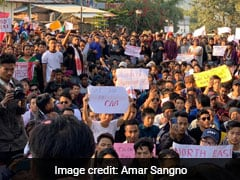 Students In Itanagar Protest Citizenship Act, Voice Solidarity With Assam