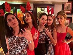 करीना कपूर ने दी क्रिसमस पार्टी, यूं मस्ती करते नजर आए सितारे...देखें Photos