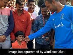 "India vs West Indies: Denesh Ramdin Presented ""Cute 4-Year Fan"" With Free Tickets, Won Hearts On Internet"