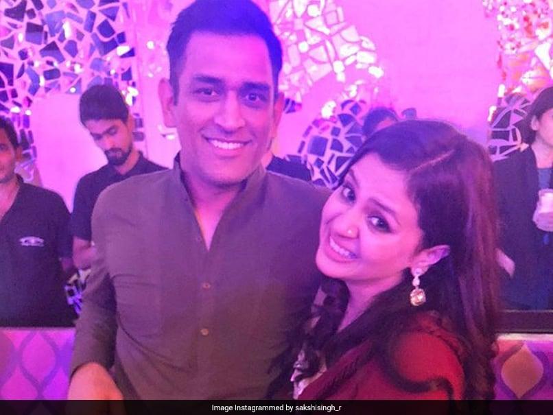 Watch: MS Dhoni Posts Throwback Video, Makes Fun Of Wife Sakshi