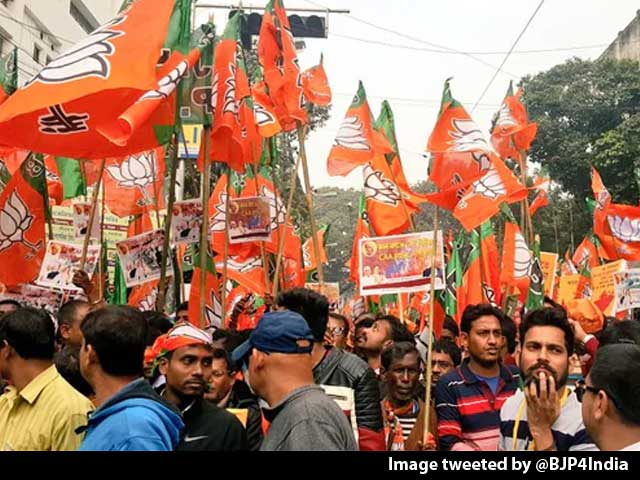 Video : As Protests Rage, BJP Takes Out Pro-Citizenship Act March In Kolkata