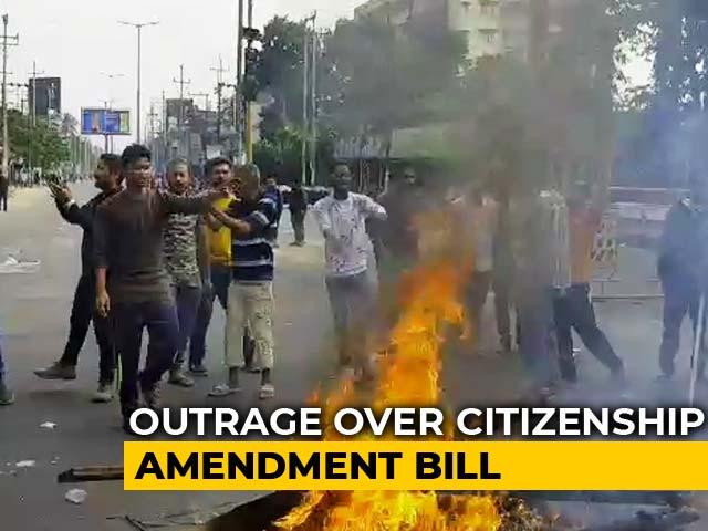 Video : Thousands Defy Curfew In Guwahati As Assam Rages Over Citizenship Bill