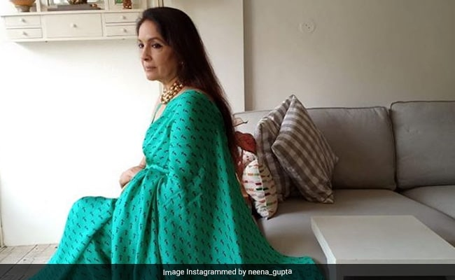 What Neena Gupta Posted After Her Viral 'Frock Ka Shock' Pic