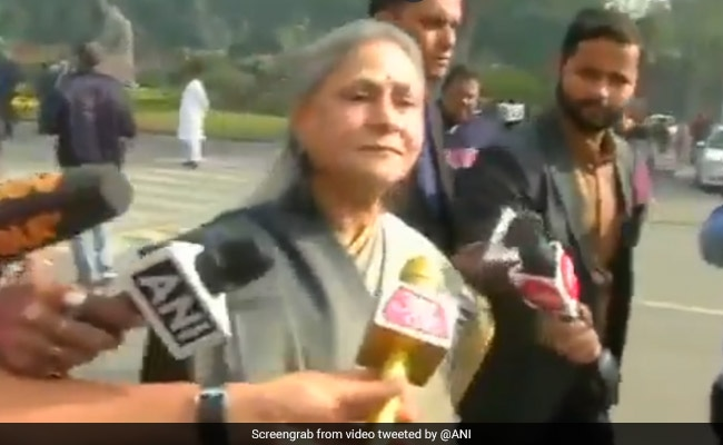 What Jaya Bachchan Said On Killing Of 4 Rape-Murder Accused In Telangana