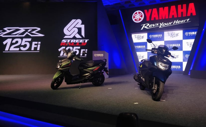 The new Yamaha Ray-ZR 125 FI replaces the 113 cc version in Yamaha's range.