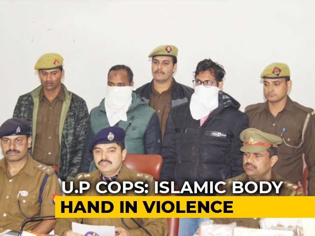 Video : Islamic Outfit PFI's Hand In Lucknow Violence, Say Cops; 2 Arrested