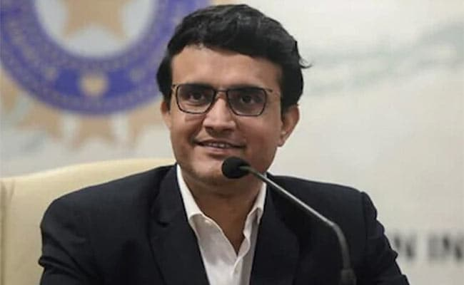 """""""Too Early To Say"""": Sourav Ganguly On ICCs Proposal Of Four-Day Tests"""
