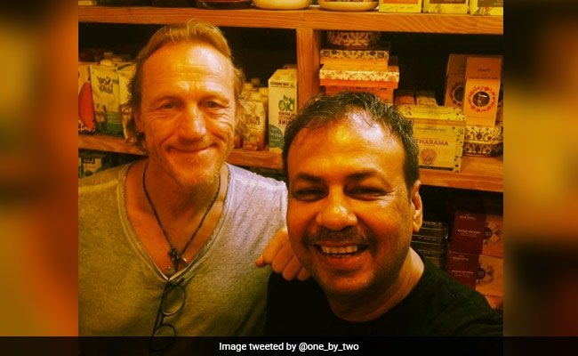 Viral Pic: Actor Jerome Flynn, Game Of Thrones' Ser Bronn, Spotted At Mumbai Cafe