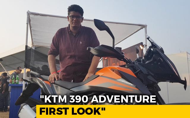 Video : First Look- KTM 390 Adventure