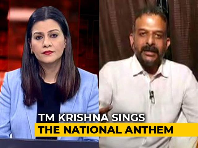 """Video : """"Some Of Us Were Afraid To Call Ourselves Nationalists"""": Singer-Activist TM Krishna"""